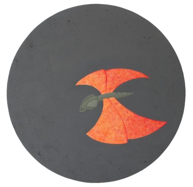 Casterline.Flight Circle.31_ diameter.open wings